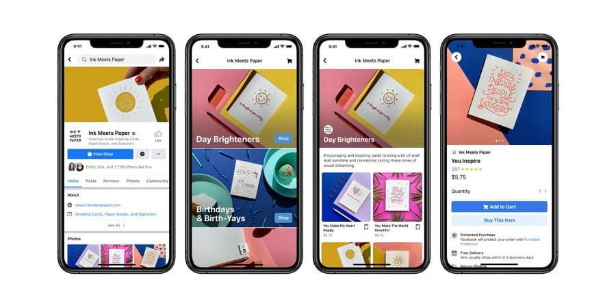 Facebook Shops Feature Launched
